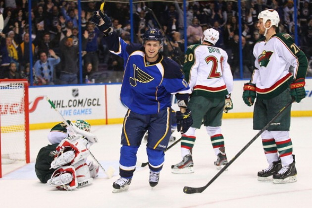 St Louis Blues Minnesota Wild