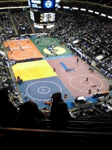 State Wrestling Tournament 2012 at the Xcel Energy Center