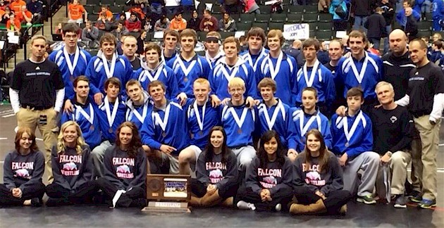 Foley Wrestling team takes third place at State